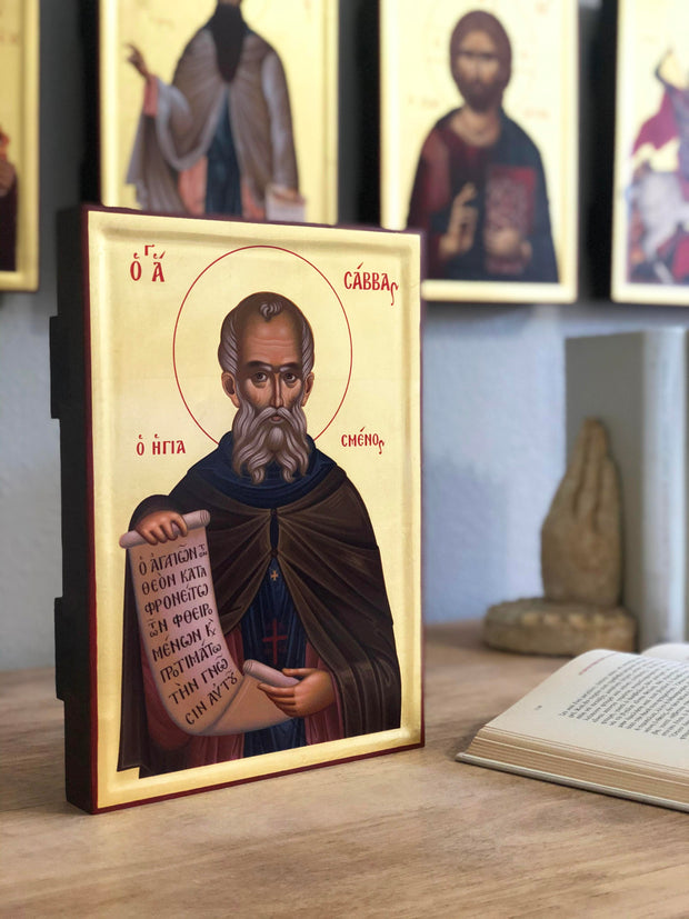 Saint Sabbas the Sanctified - Athonite