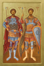 Saints Theodore Tyro and Stratelates - Athonite