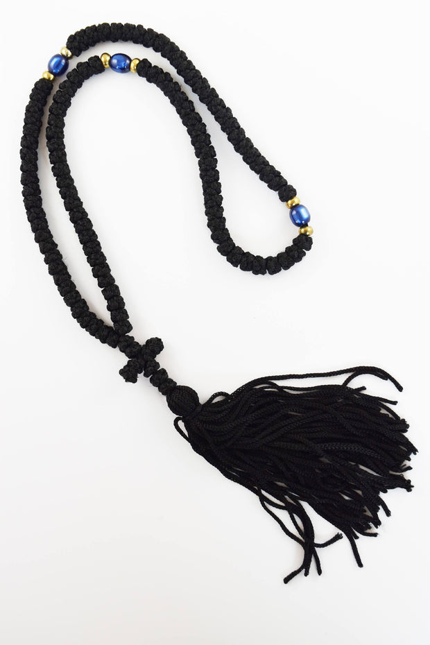 Wax Prayer Rope with Beads & Tassel - Athonite