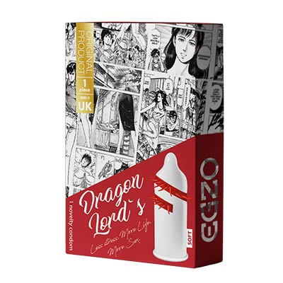 Dragon Lord's Egzo Condom - Soft