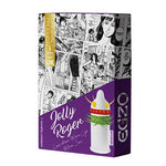 Jolly Roger Egzo Condom - Medium