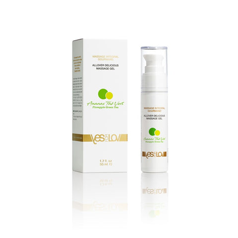 Delicious Allover Massage Gel - Pineapple/Green Tea 50ml