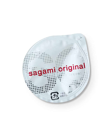 Ultra thin latex-free (Polyurethane) condoms Sagami 0.02 mm (2pc)