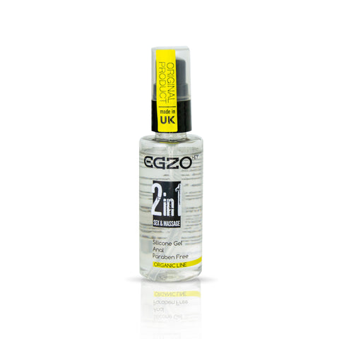 Egzo Organic Line - 2in1 sex & massage - Anal Silicone Gel