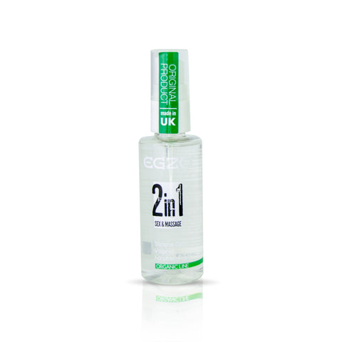 Egzo Organic Line - 2in1 sex & massage - Vaginal Silicone Gel 50ml