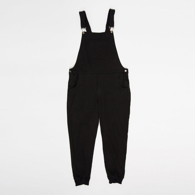 Swoveralls - Midnight Black/Navy Bundle of 2 Sweatpant Overalls The Great Fantastic