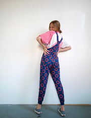 Donut Trip - Swoveralls Upcycled by Sera Sweatpant Overalls The Great Fantastic