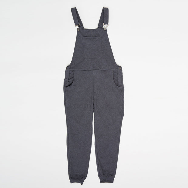 Swoveralls - Dark Athletic Grey/Navy Bundle of 2 Sweatpant Overalls The Great Fantastic