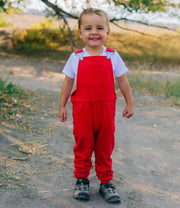 Kids Swoveralls - Party Red Youth Swoveralls The Great Fantastic