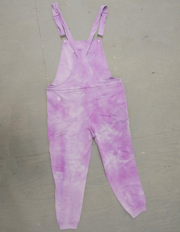 Lavender - Swoveralls Upcycled by Sera Sweatpant Overalls The Great Fantastic