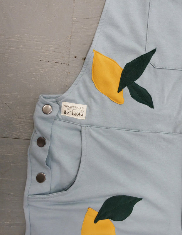Lemonade - Swoveralls Upcycled by Sera Sweatpant Overalls The Great Fantastic