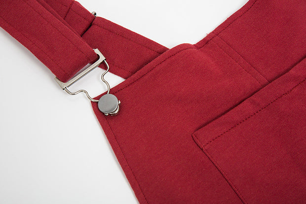 Swoveralls - Rust Maroon [Limited Edition!] Sweatpant Overalls The Great Fantastic