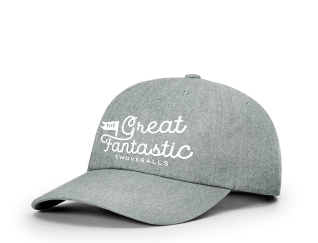 Comfy Dad Cap in Heather Grey Hat The Great Fantastic