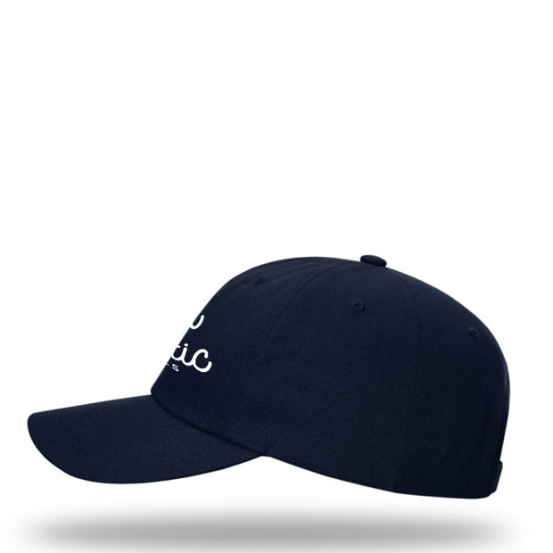 Comfy Dad Cap in Navy Grey Hat The Great Fantastic