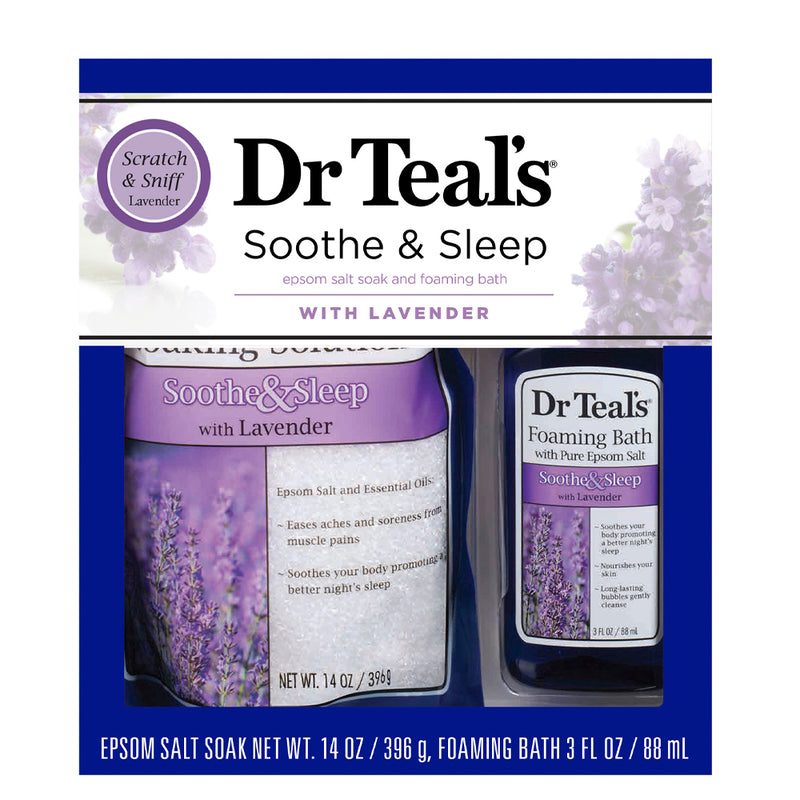 Dr Teal's Gift Set - 2pc Lavender