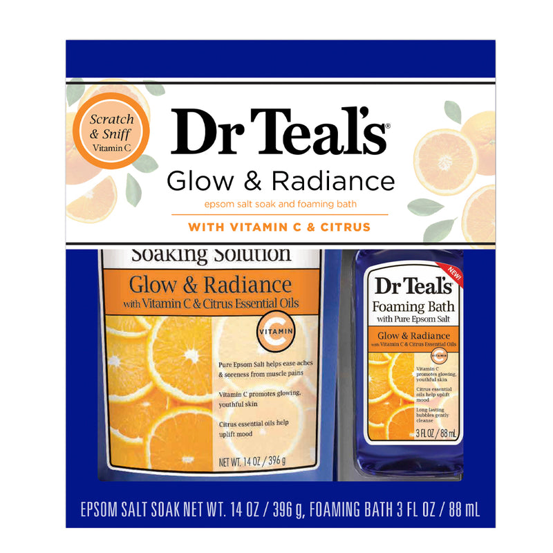 Dr Teal's Gift Set - 2pc Citrus