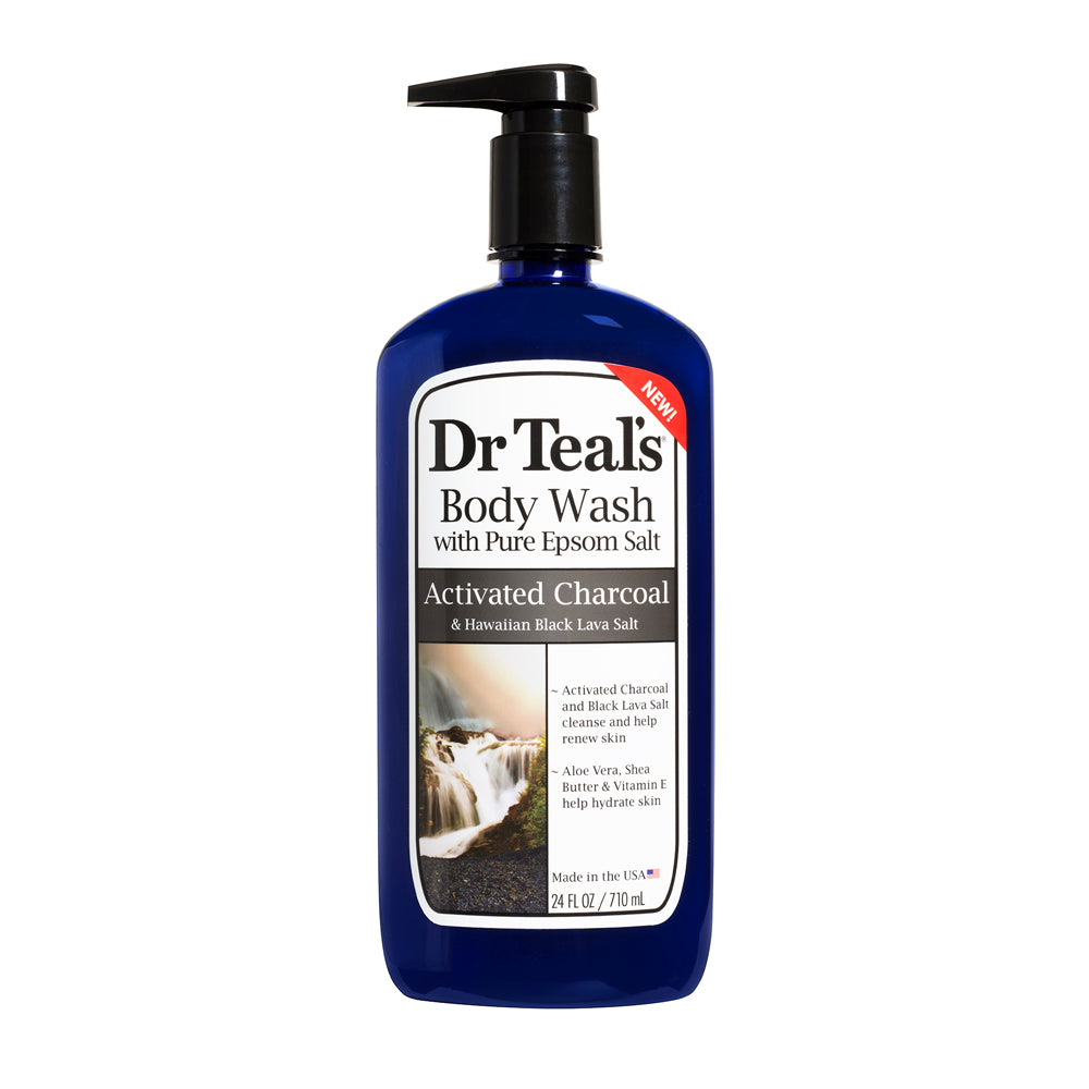 Dr teal's Body Wash - Cleanse & Renew with Activated Charcoal