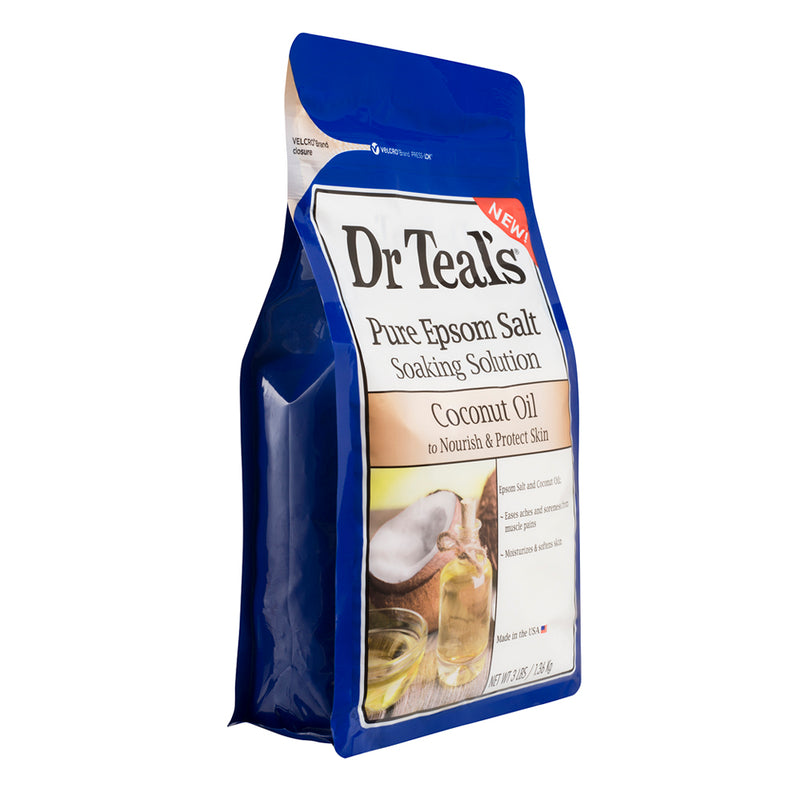 Dr Teals Epsom Salt Coconut Oil Soaking Solution