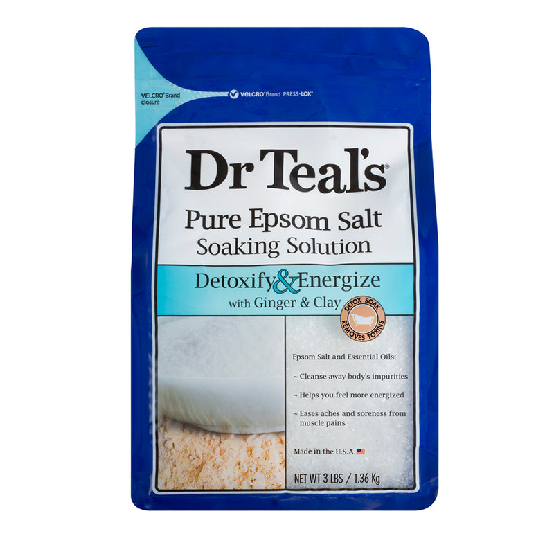 Dr Teals Epsom Salt Ginger & Clay Soaking Solution