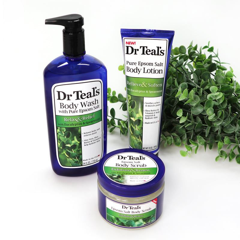 Dr teals Eucalyptus Shower Pack