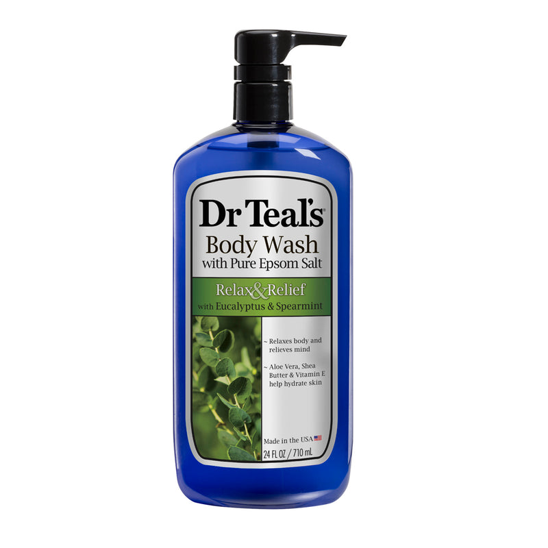 Dr Teals Eucalyptus Spearmint Epsom Salt Body Wash