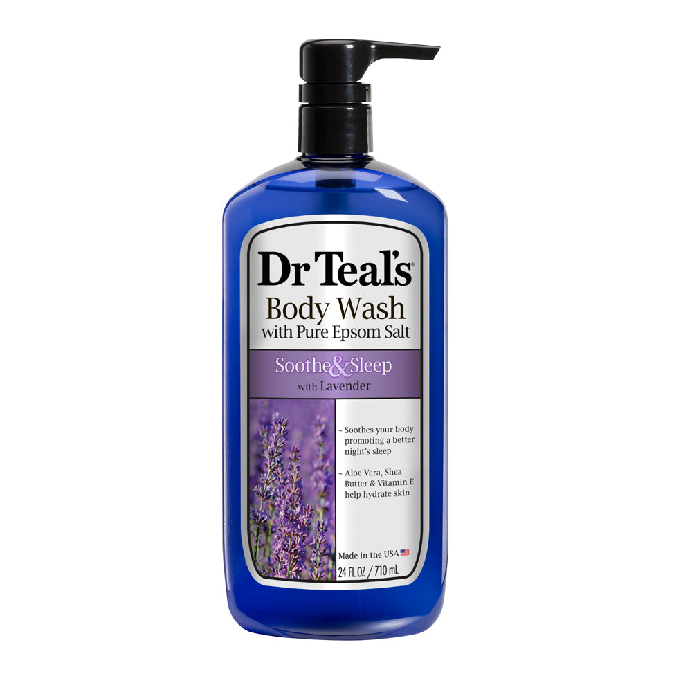 Dr Teals Lavender Epsom Salt Body Wash