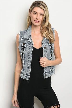 Denim Vest for Women