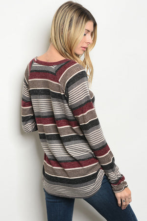 Casual Striped Sweater