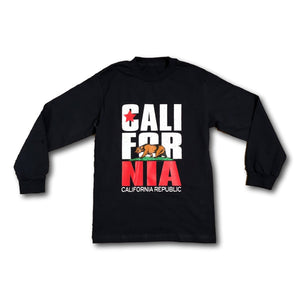 California Republic Logo Long Sleeve T-Shirt