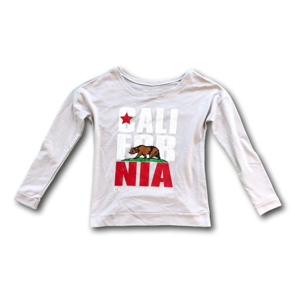 Women's California Republic Long Sleeve Scoop Neck