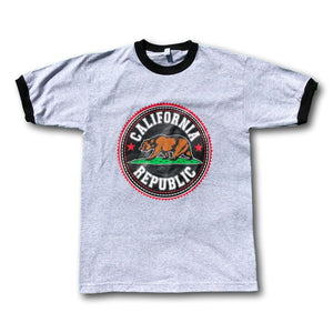California Bear Short Sleeve Graphic T-Shirt