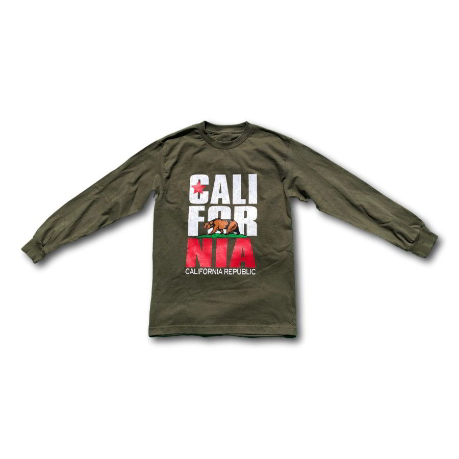 California Republic Bear - Long Sleeve T-Shirt