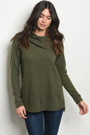 Long Sleeve Knit Tunic Top