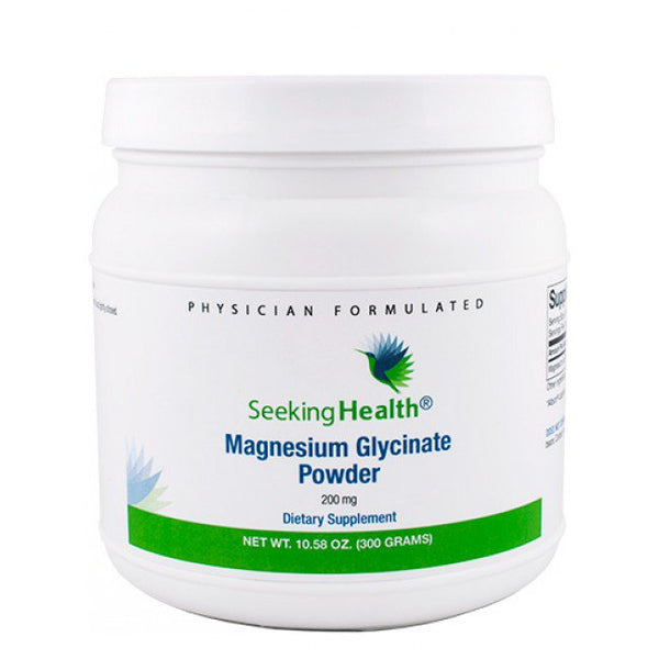 Glicinato de Magnesio (Magnesium Glycinate) Seeking Health