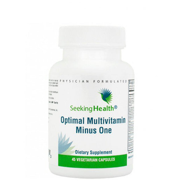 Optimal Multivitamin minus One Seeking Health