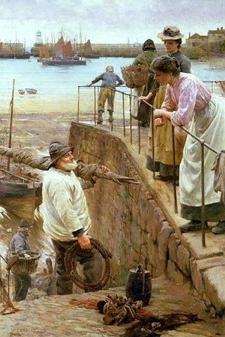 Walter Langley - Between the Tides
