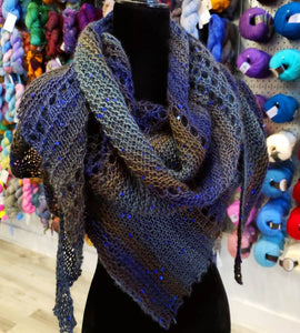Digital Pattern:  Glimmer Shawl