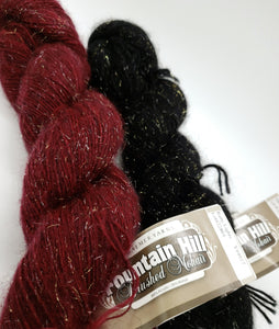 Fountain Hill Brushed Mohair Sparkles