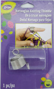 Loran Norwegian Knitting Thimble