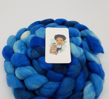 Load image into Gallery viewer, Hopkins Fiber Studio Fiber - OOAKB - Polwarth Silk - #1