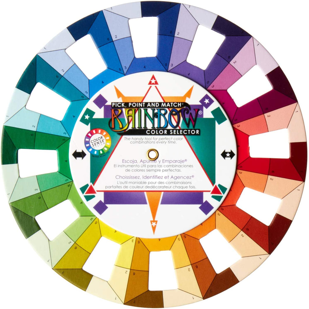 Classic Rainbow Color Selector Pocket Size