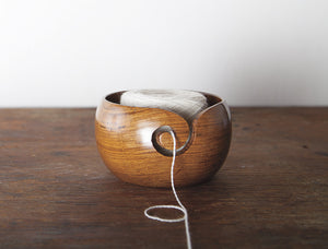 New! Knit Picks Rosewood Yarn Bowl