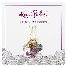 Load image into Gallery viewer, New! Knit Picks Sparkles the Knitting Unicorn Stitch Markers