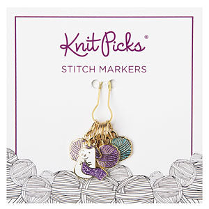 New! Knit Picks Sparkles the Knitting Unicorn Stitch Markers
