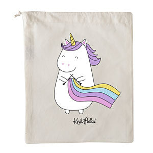 New! Knit Picks Sparkles the Knitting Unicorn - Project Bag