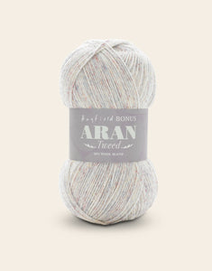 Hayfield Bonus Tweed With Wool Aran