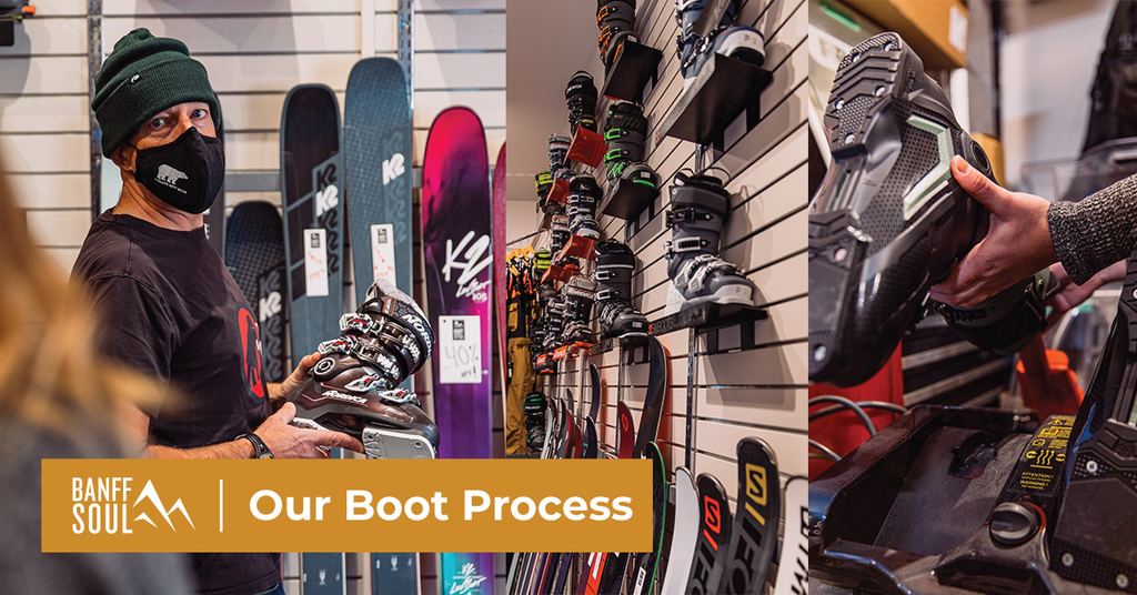 Our Boot Fitting Process