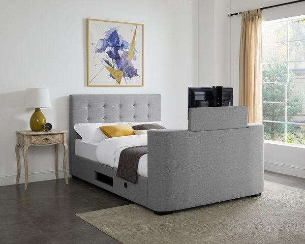 Mayfair TV Bed - Grey