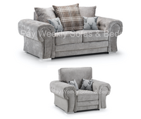Verona 2 Seater & Chair Set