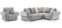 Verona 2C1 Corner Sofa & Chair Set